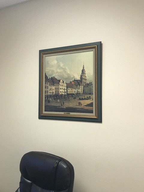 Framed Picture - V.V.