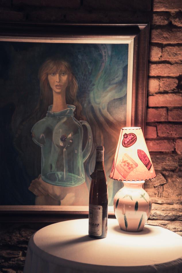 Wein ist Kunst.
