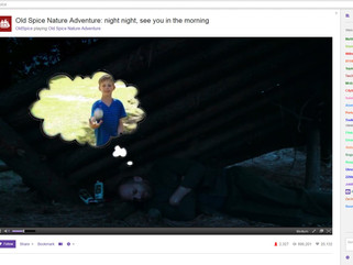 Twitch viewers control real life 'Nature Man' for Old Spice Stunt
