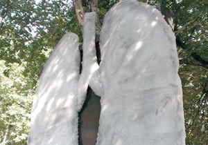 Giant Lungs Appear In Belgrade Street