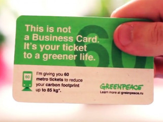 Greenpeace launches EcoCard
