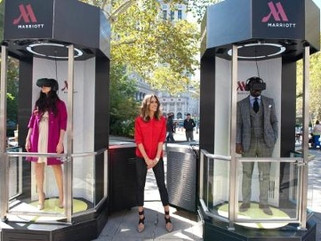 #Get Teleported: Marriott Hotels create 4D travel Experience