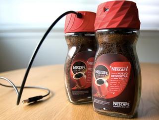 Nescafe Coffee Alarm Clock Cap
