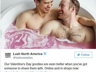 #loveislove with Lush