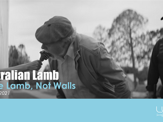 Make Lamb, Not Walls…..A Timely Reminder