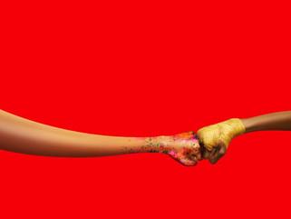 Coca Cola's 'Friendship fist pump' campaign