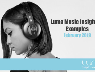 Luma Music Insights & Examples