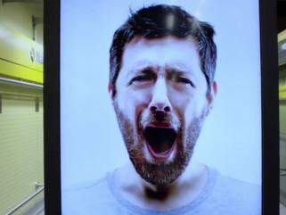 Contagious! Motion sensor ads elicit yawns