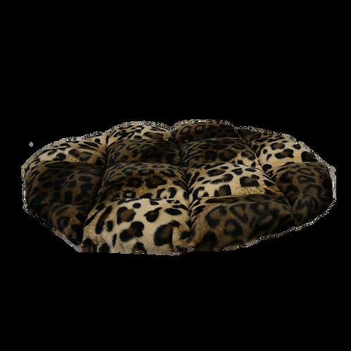 Coussin léopard pour cabane 40cm