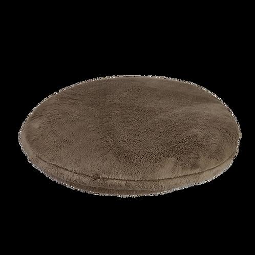Coussin brun pour cabane 40cm