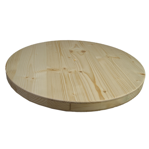 Socle en mélèze 80cm de diamètre