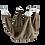 Thumbnail: Hamac en tissu de 40cm de diamètre sur 40cm