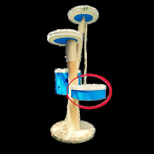 Hamacà fixer sur tronc de 40cm de diamètre sur 12cm de hauteur