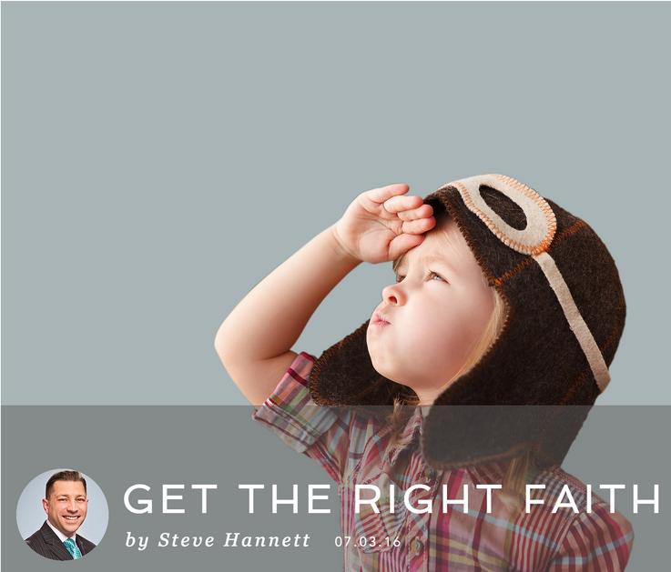 GET THE RIGHT FAITH