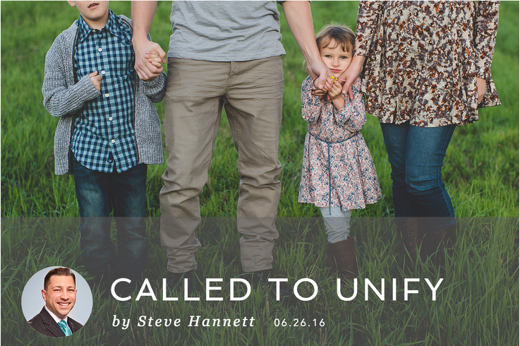 CALLED TO UNIFY