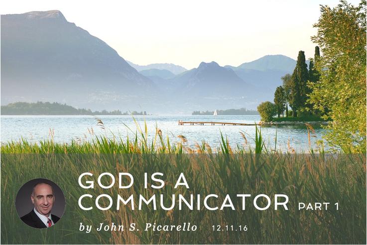 GOD IS A COMMUNICATOR part I