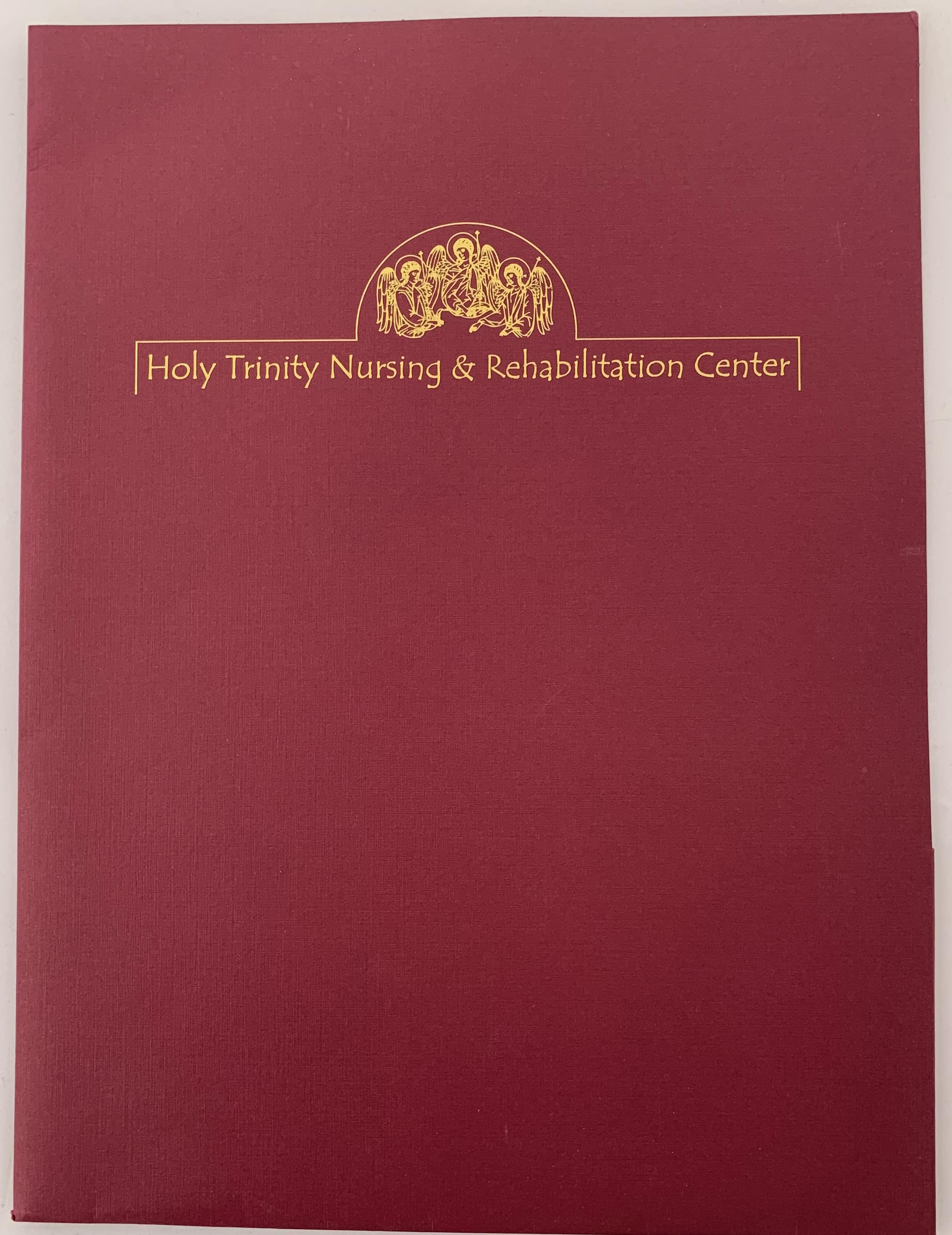 Holy Trinity Folder