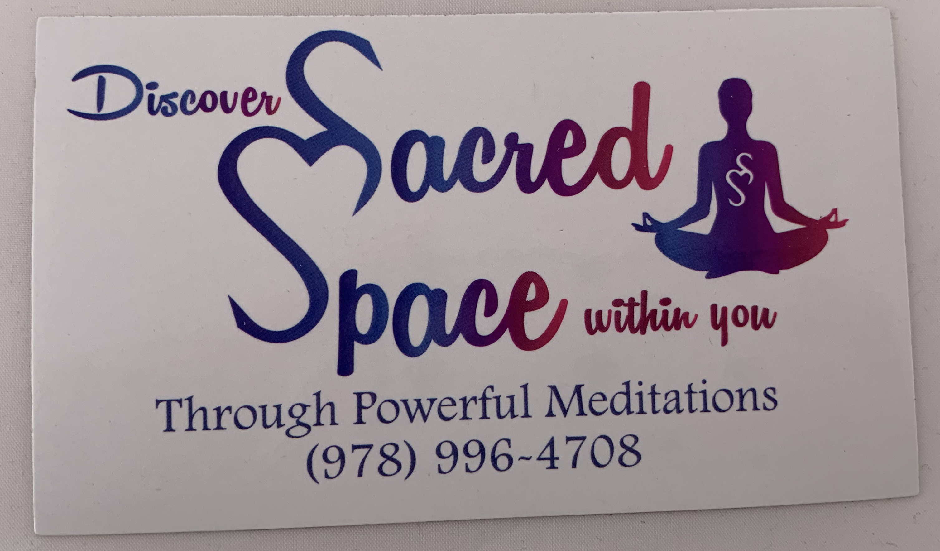 Sacred Space Magnet