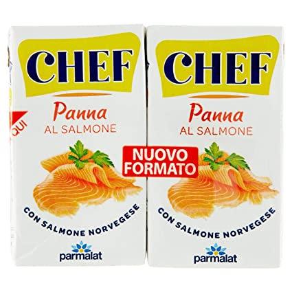 CHEF Panna al Salmone