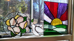 Spending a little time working on glass this weekend and thinking about some older pieces I've made