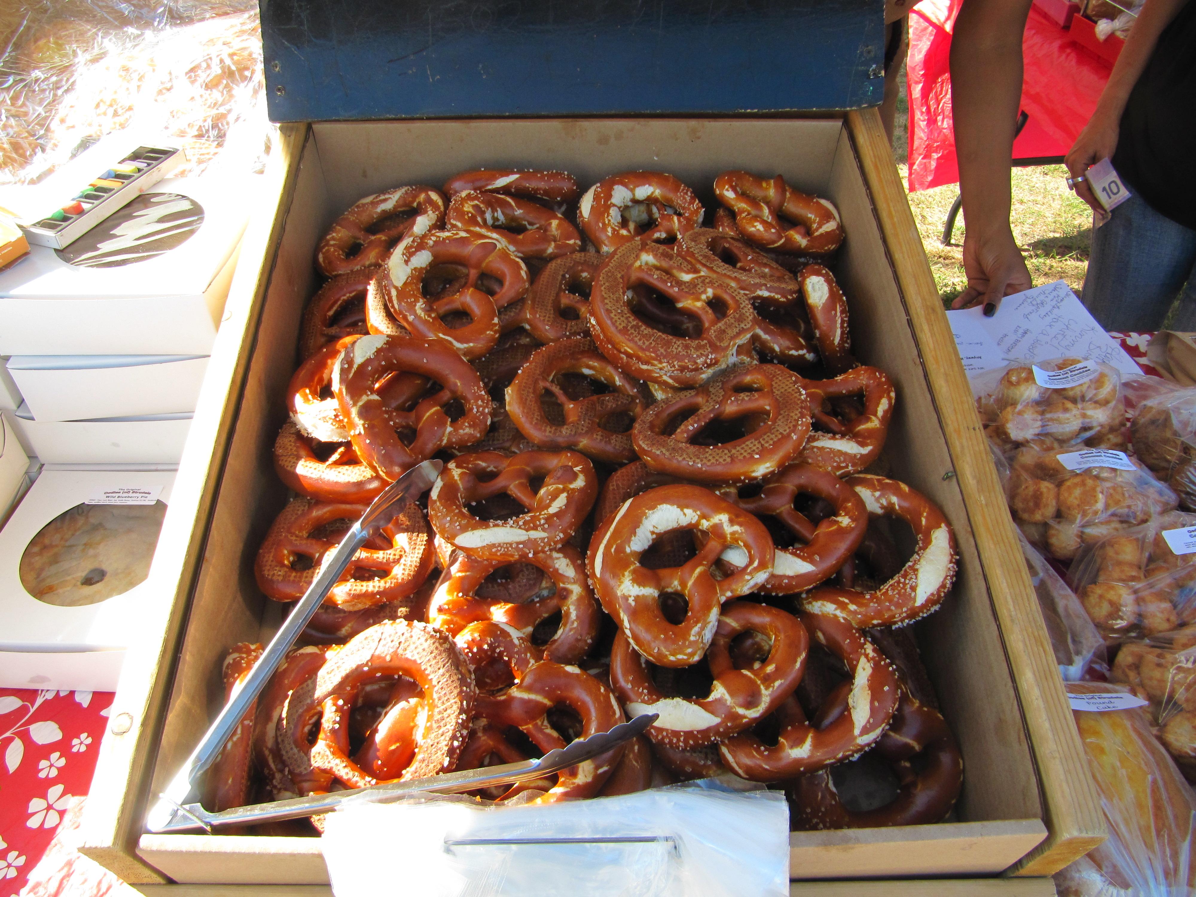 Cathys pretzels