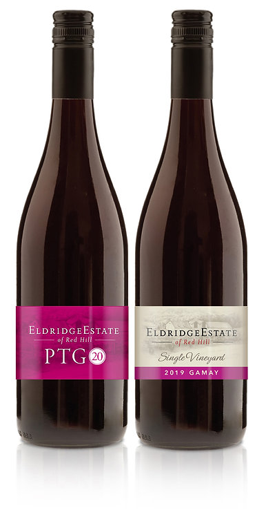 PTG 2020 x 3 and Gamay 2019 x 3