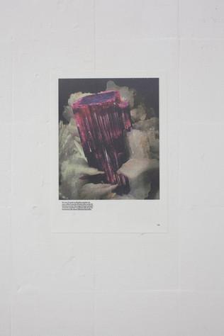 Untitled II 2020, archival pigment print on wallpaper, 29,7 x 21 cm