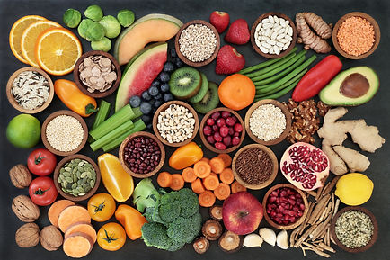 Immune boosting health food concept with