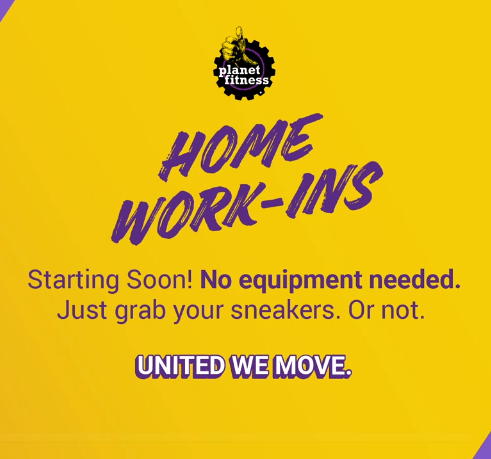 Planet Fitness Home Work-Ins