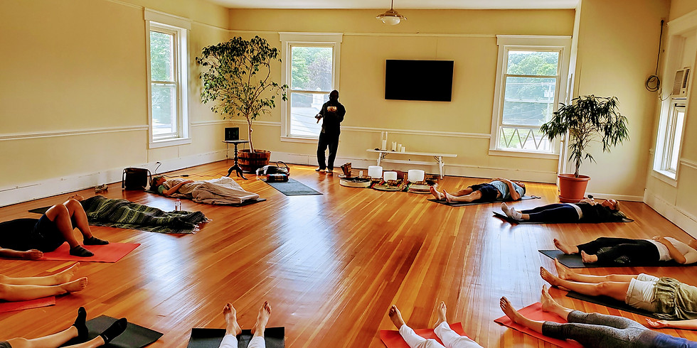 Sound Healing with Kelvin Young