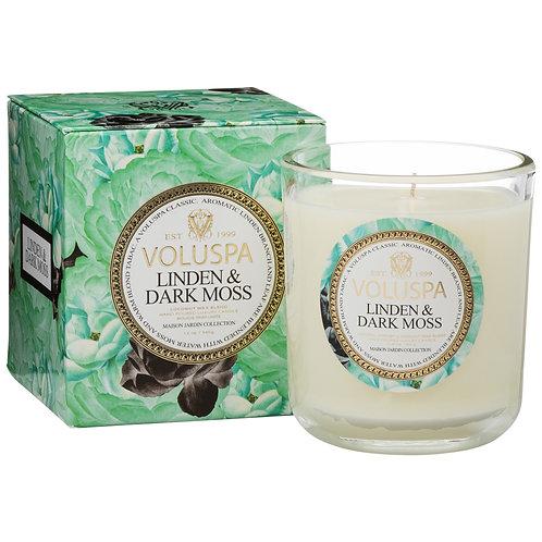 Linden & Dark Moss Classic Maison Candle