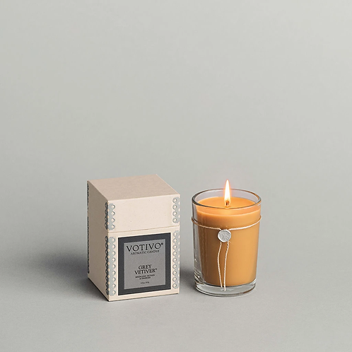 Votivo Grey Vetiver Candle