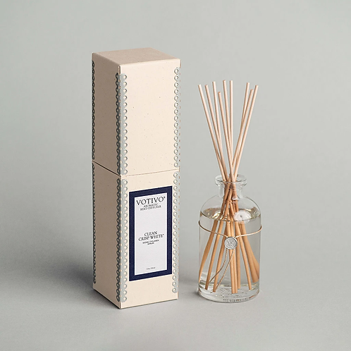 Votivo Clean Crisp White Reed Diffuser