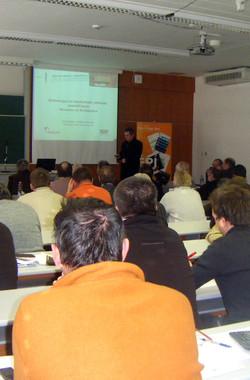 Mérnökszakmai előadás (Pécs)