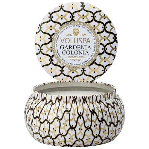 Gardenia Colonia 2 Wick Candle