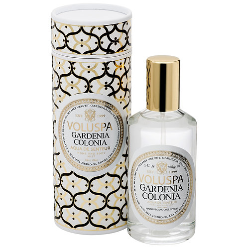 Gardenia Colonia Aqua De Senteur - Room & Body Spray