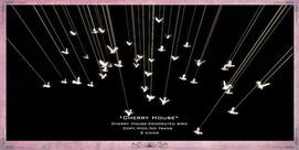 Cherry House-Decorated bird