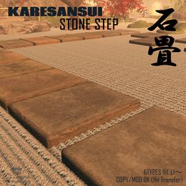 [MG] stone step