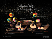 andika[Modan Wafu Temari sushi set]