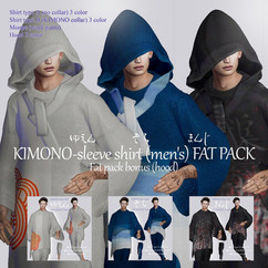 [ r-l-f ] KIMONO-sleeve shirt (men's) FA