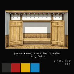 {-Maru Kado-} Booth for Japonica (July.2