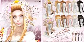 __..Silvery K..__SAKURA Style Hair Gacha
