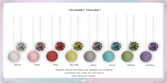 Cherry House-Lantern and decorative flow