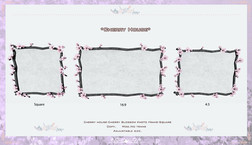 Cherry house-Cherry Blossom photo frame