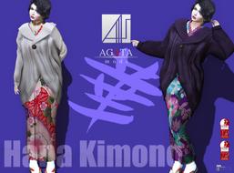 AGATA Hana  kimono