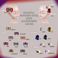 violetta. japanese style hair accessorie