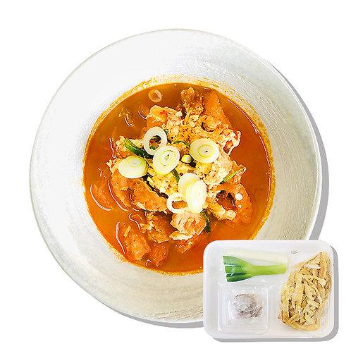 ピリ辛干し明太スープの手作りキット