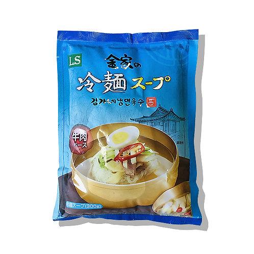金家の冷麺スープ
