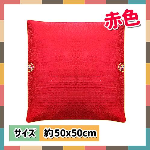座布団カバー(赤色)