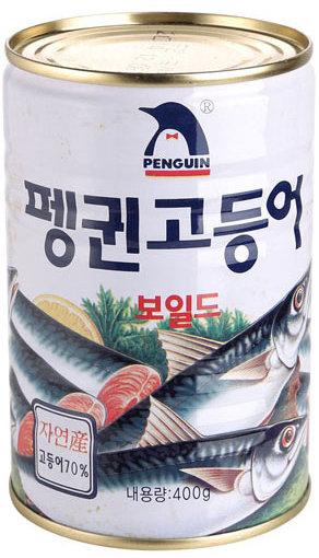 「ペンギン」サバ缶詰